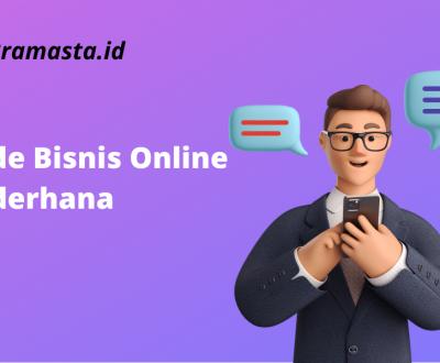 Ide Bisnis Online Sederhana